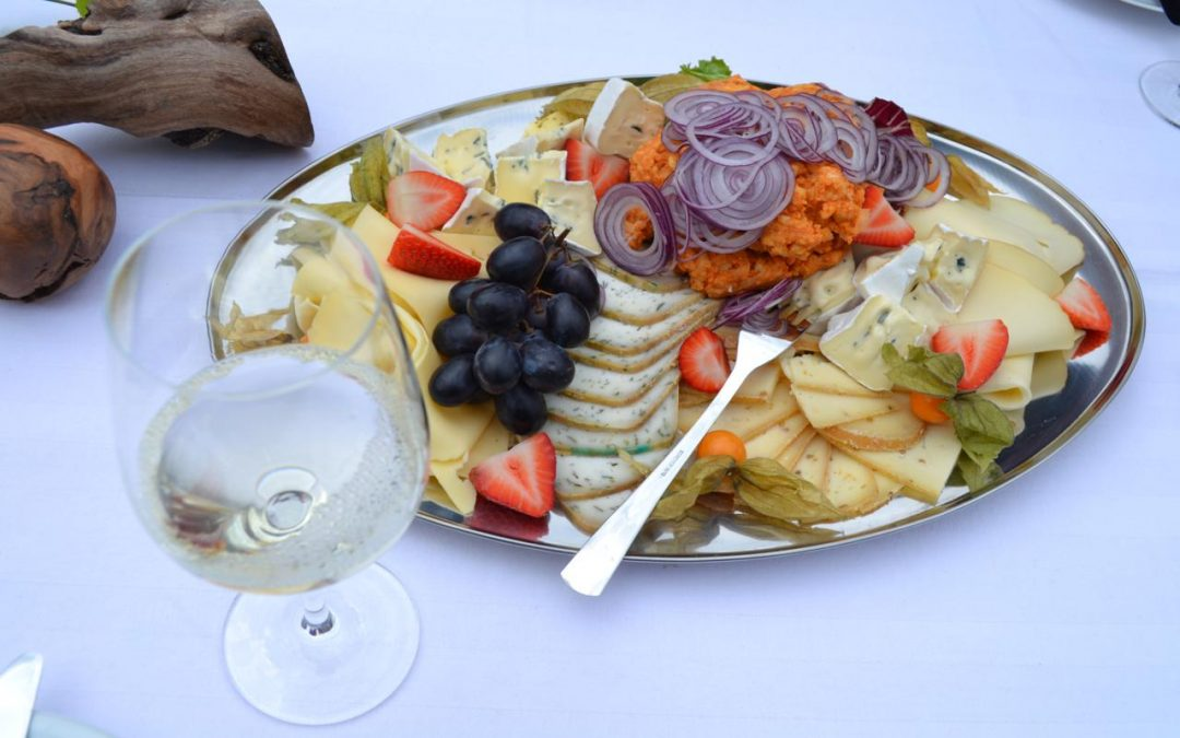 German cheese platter