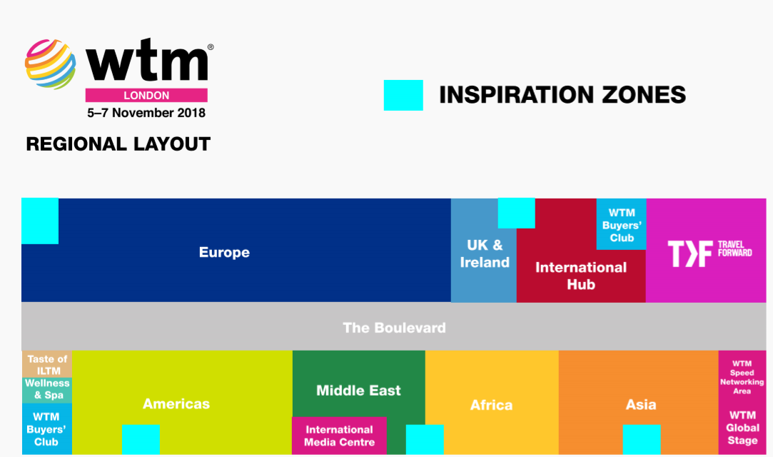 WTM London 2018 Turns the Spotlight on the Regions