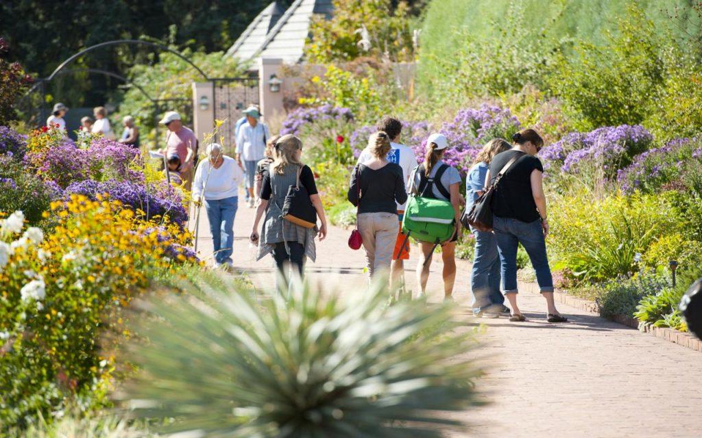Colorado botanical garden tips