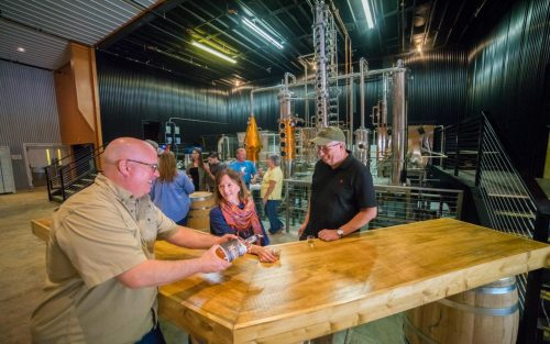 Elevated Mountain Distilling Company in Maggie Valley