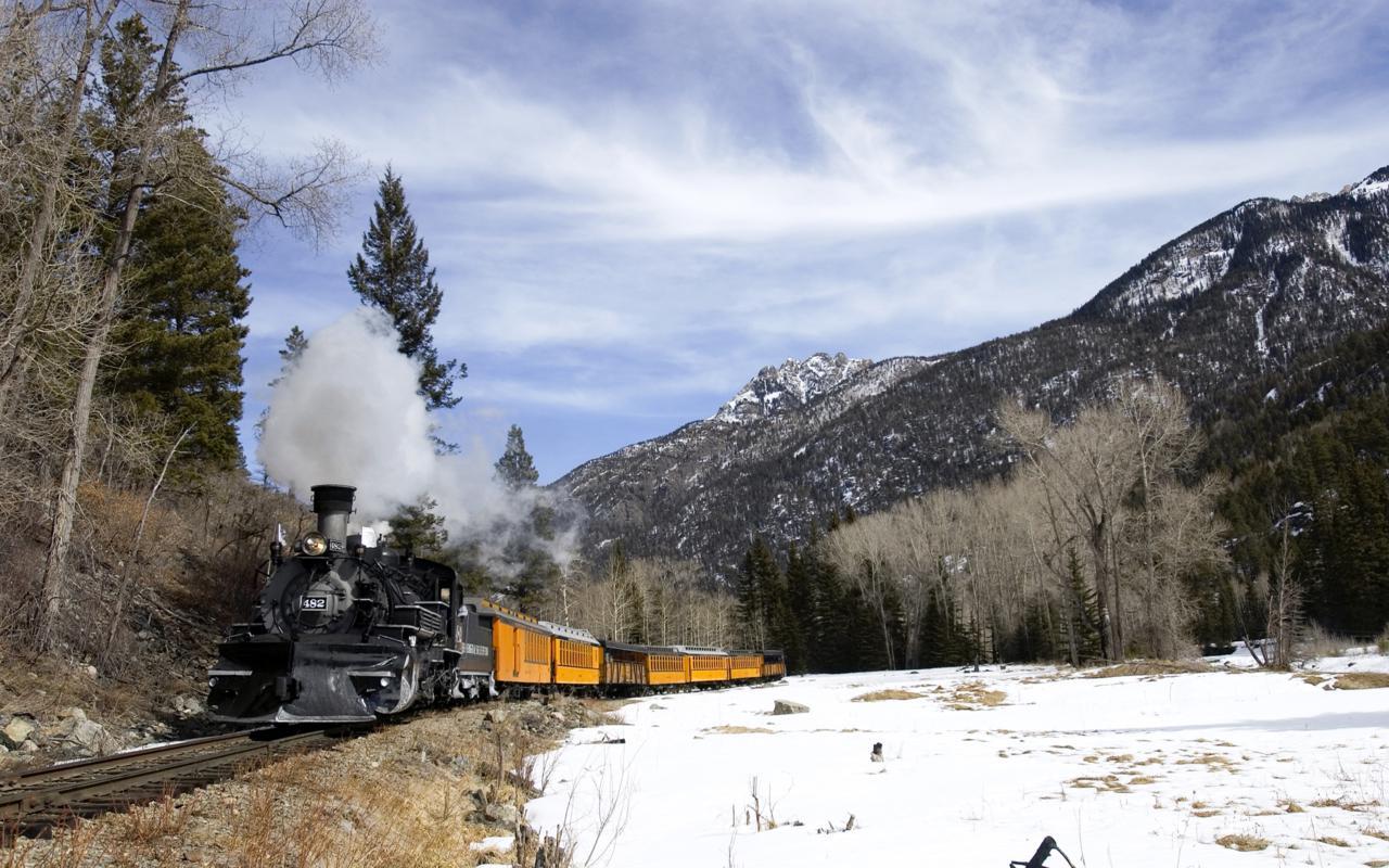 Durango & Silverton Colorado National Monument Narrow Gauge Railroad