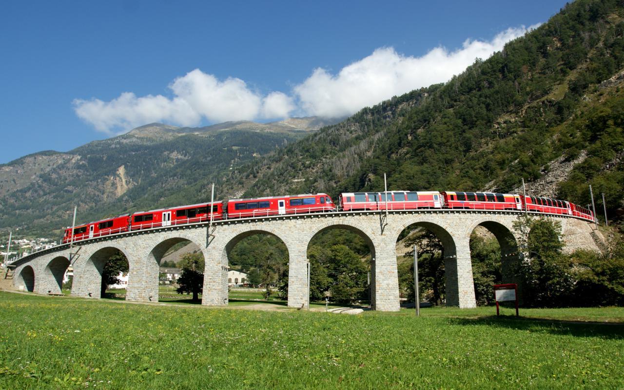 Unesco Albula Bernina Sommer