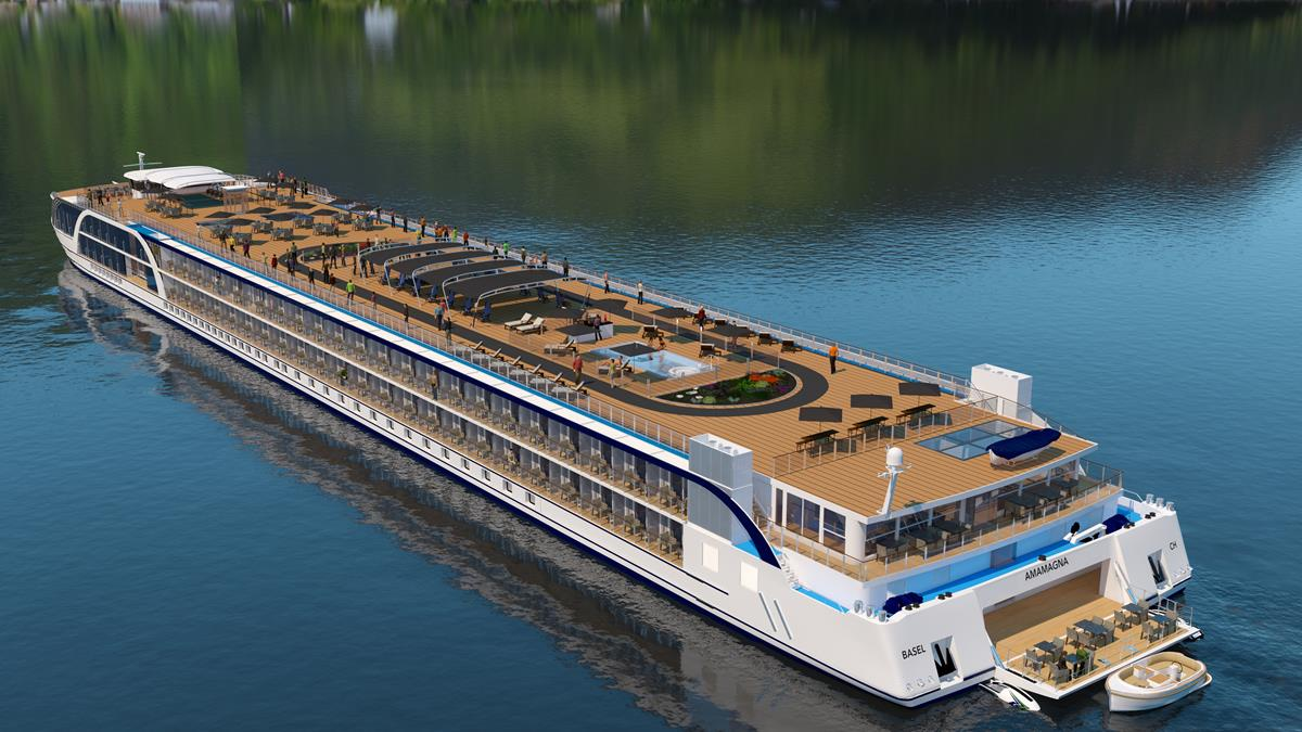 AmaLea Joins AmaWaterways