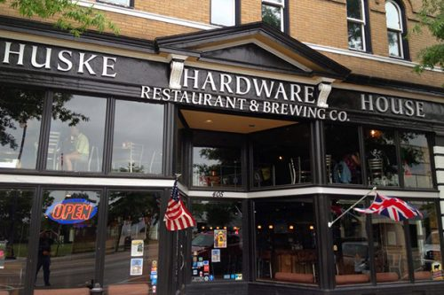 Huske Hardware House Restaurant and Brewery. c