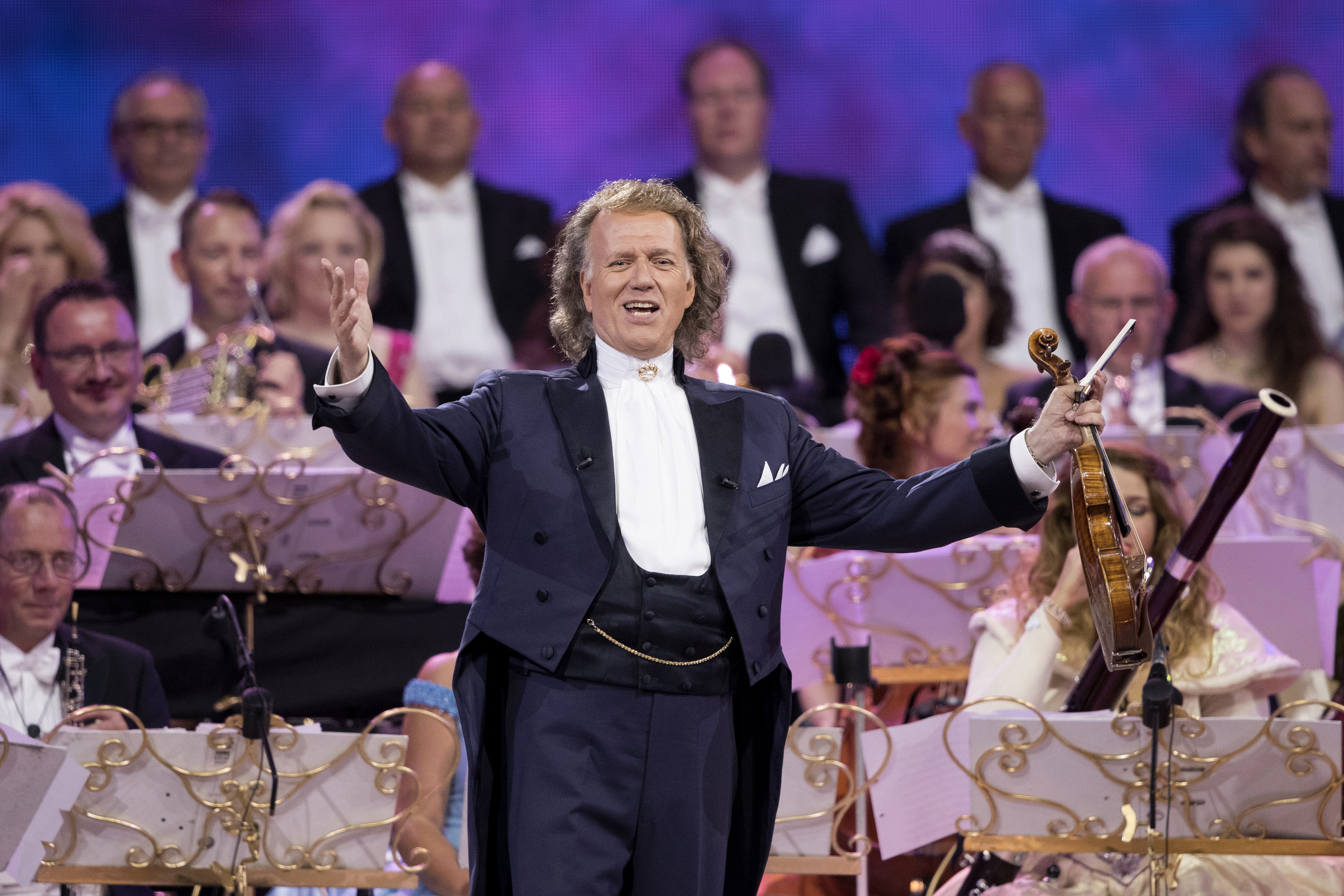 International Superstar André Rieu Announces Fall Tour Dates in USA and Canada