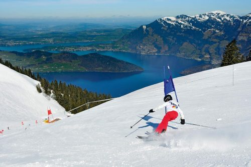 Lake Lucerne and Mt. Rigi