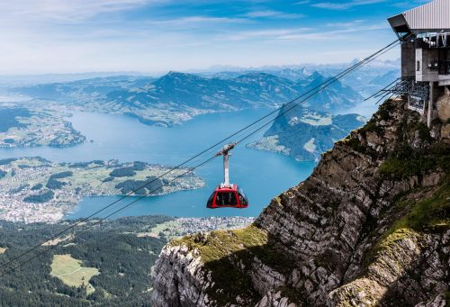 Mt. Pilatus and Lake Lucerne