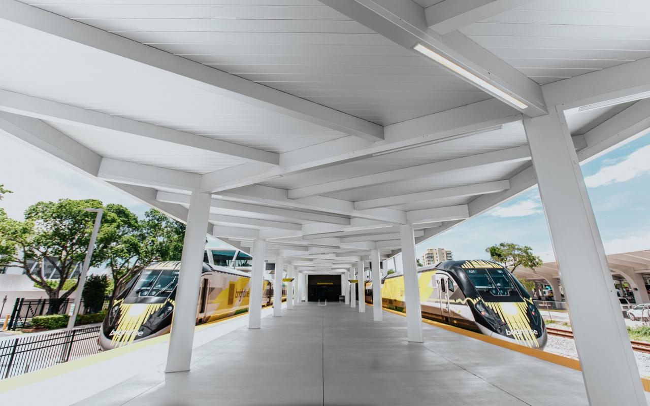 Brightline trains
