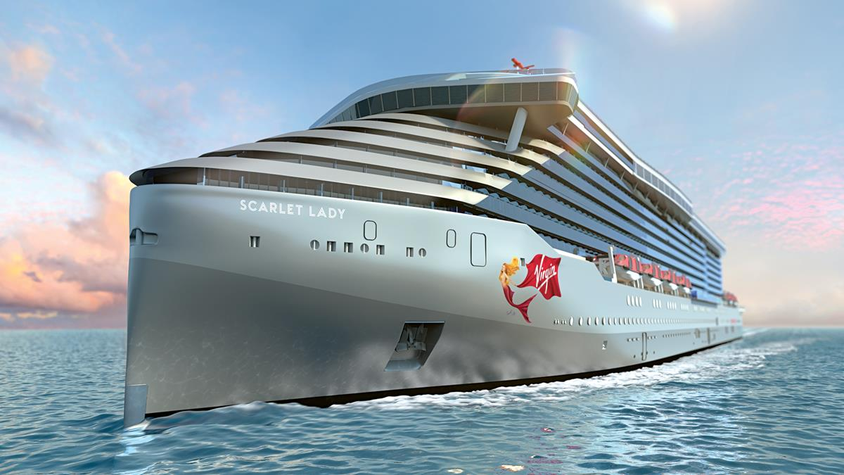 Virgin Voyages Announces Details for the Scarlet Lady