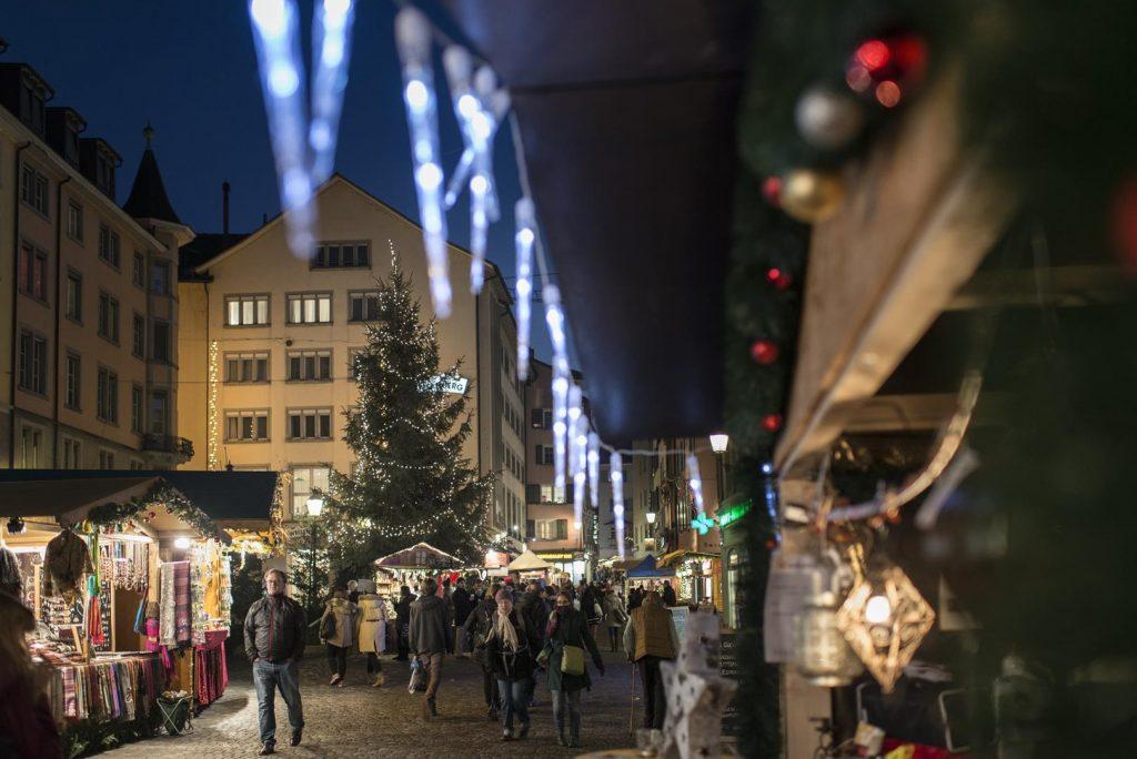 Zurich Old Town - Switzerland Christmas Market