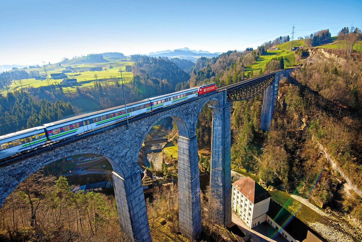 Switzerland by Rail: Classic routes the best scenery in Europe