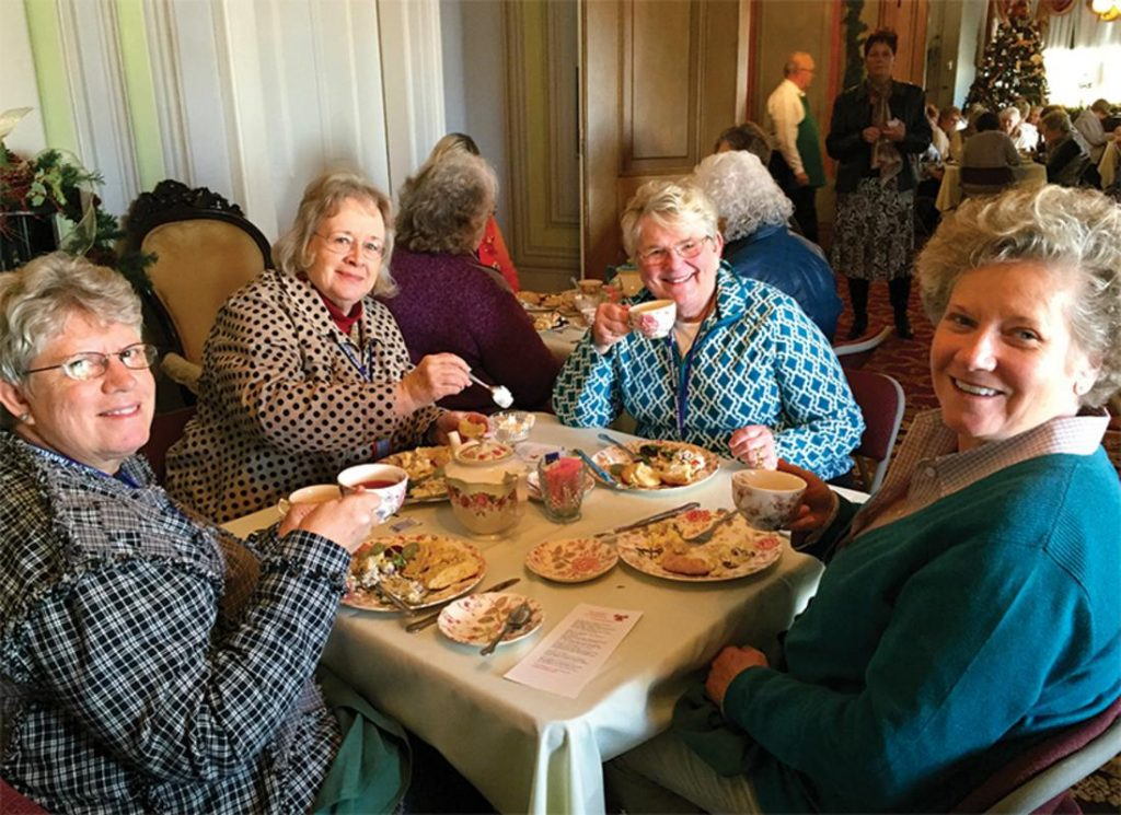 Afternoon tea at Hillforest