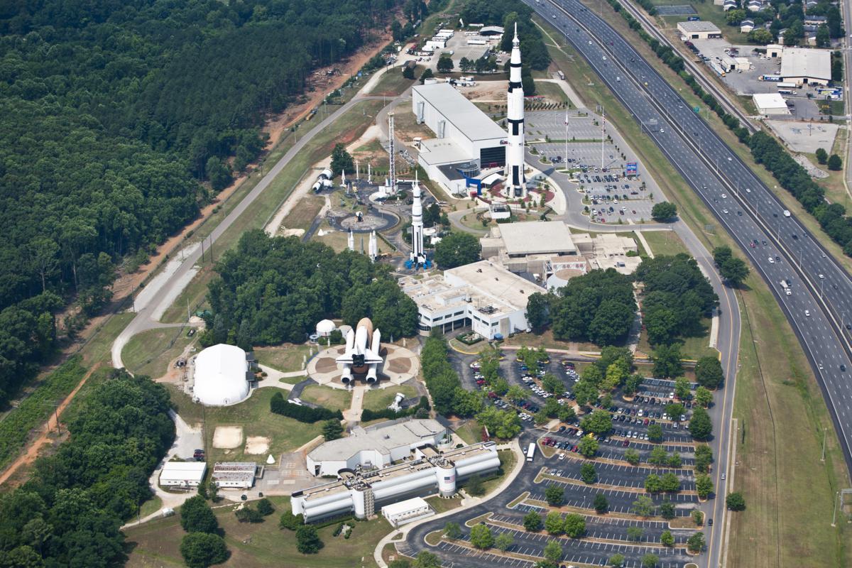 U.S. Space & Rocket Center areial