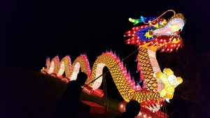China Lights Festival at Boerner Botanical Gardens