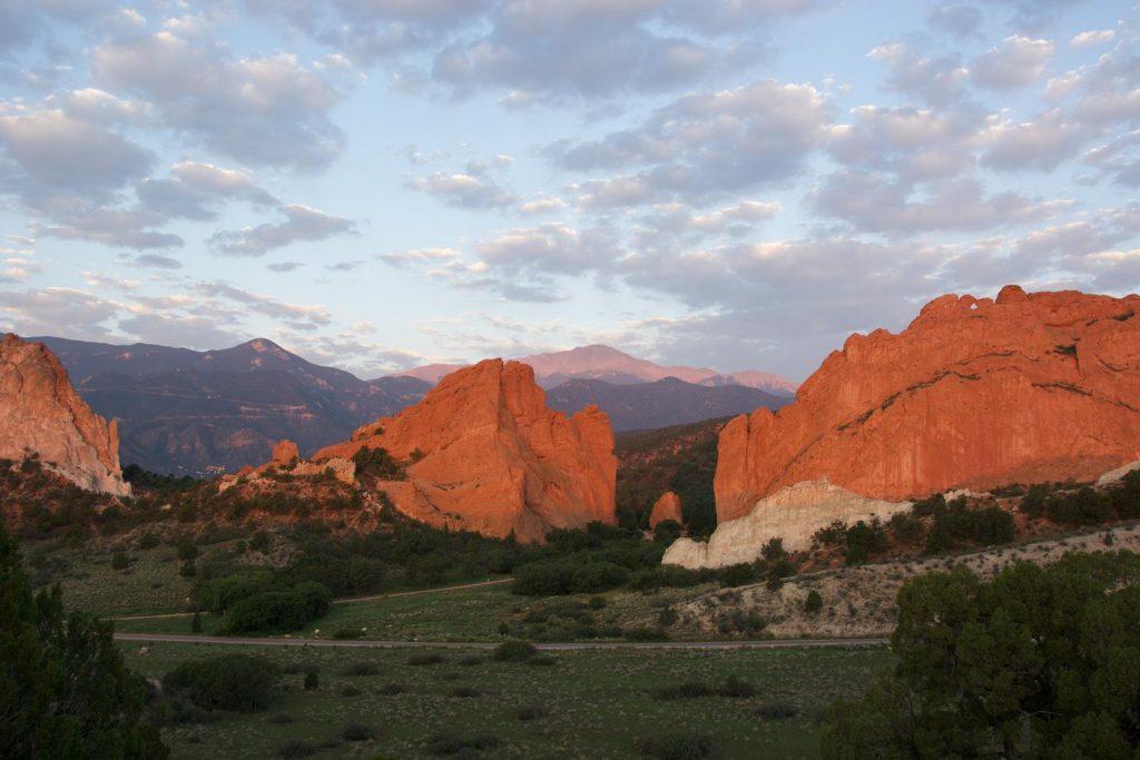 Colorado Springs CVB - Pikes Peak and Garden of the Gods