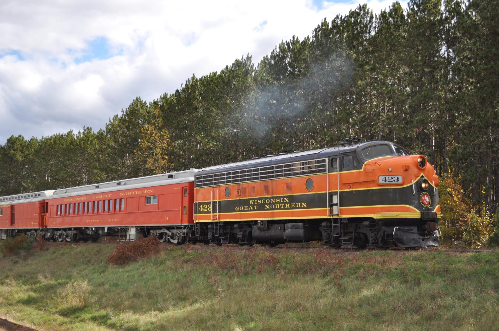 Great Northern Train Ride