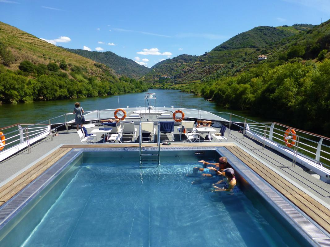 MS Miguel Torga's Pool and Sun Deck
