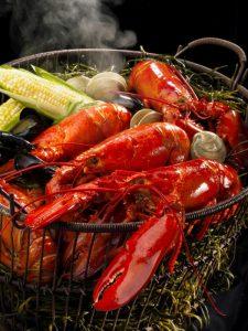 Maine lobster bake