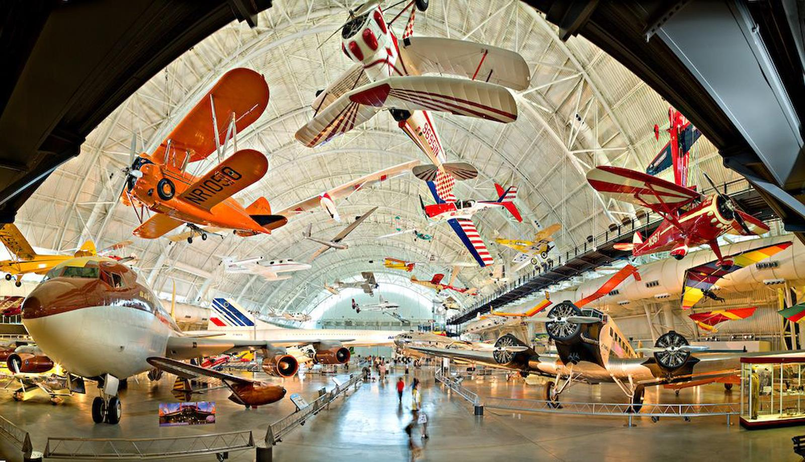 Smithsonian's National Air and Space Museum Steven F. Udvar-Hazy Center credit Visit Fairfax
