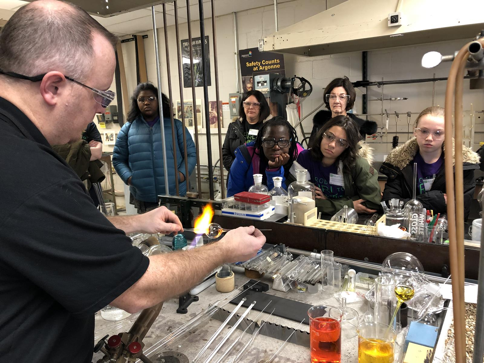 Argonne National Labratory STEM training