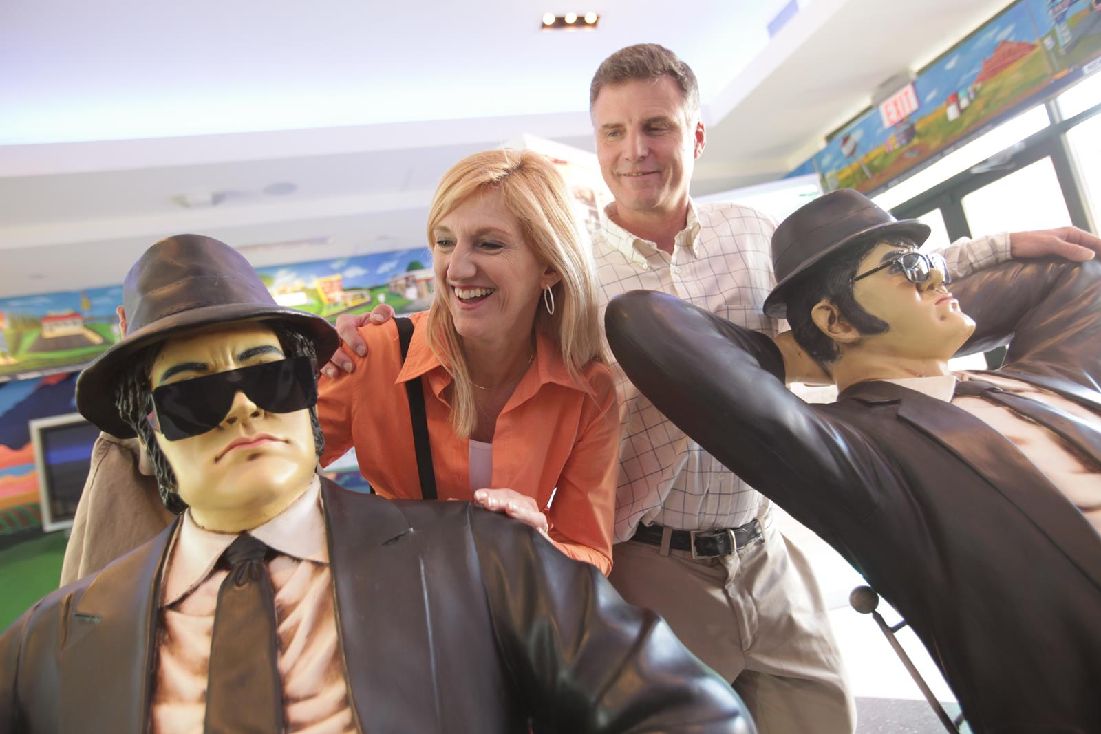 Blues Brothers at Joliet Historic Museum