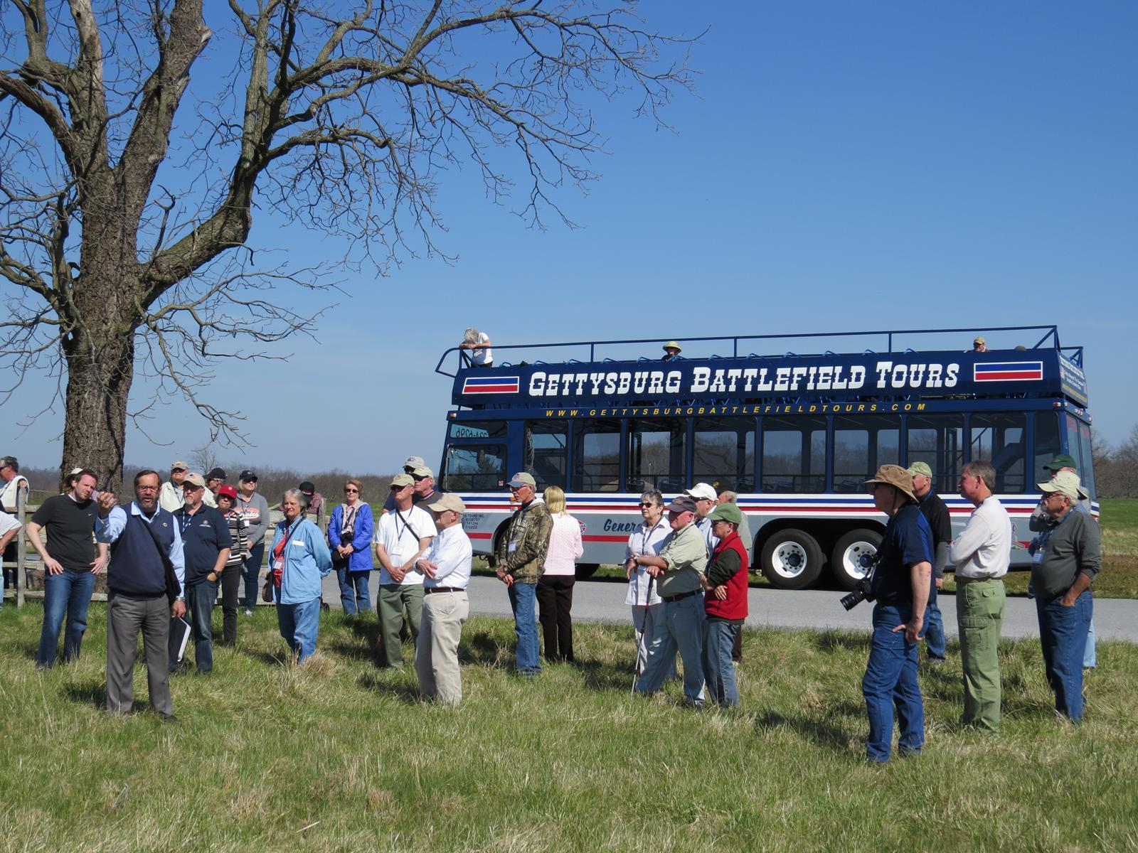 Double Decker Bus Tour Gettysburg