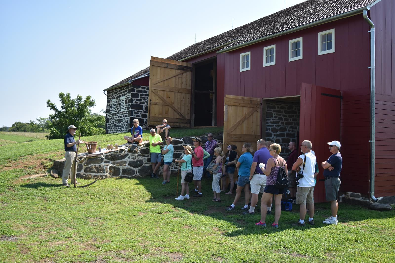 George Spangler Farm & Field Hospital Tour