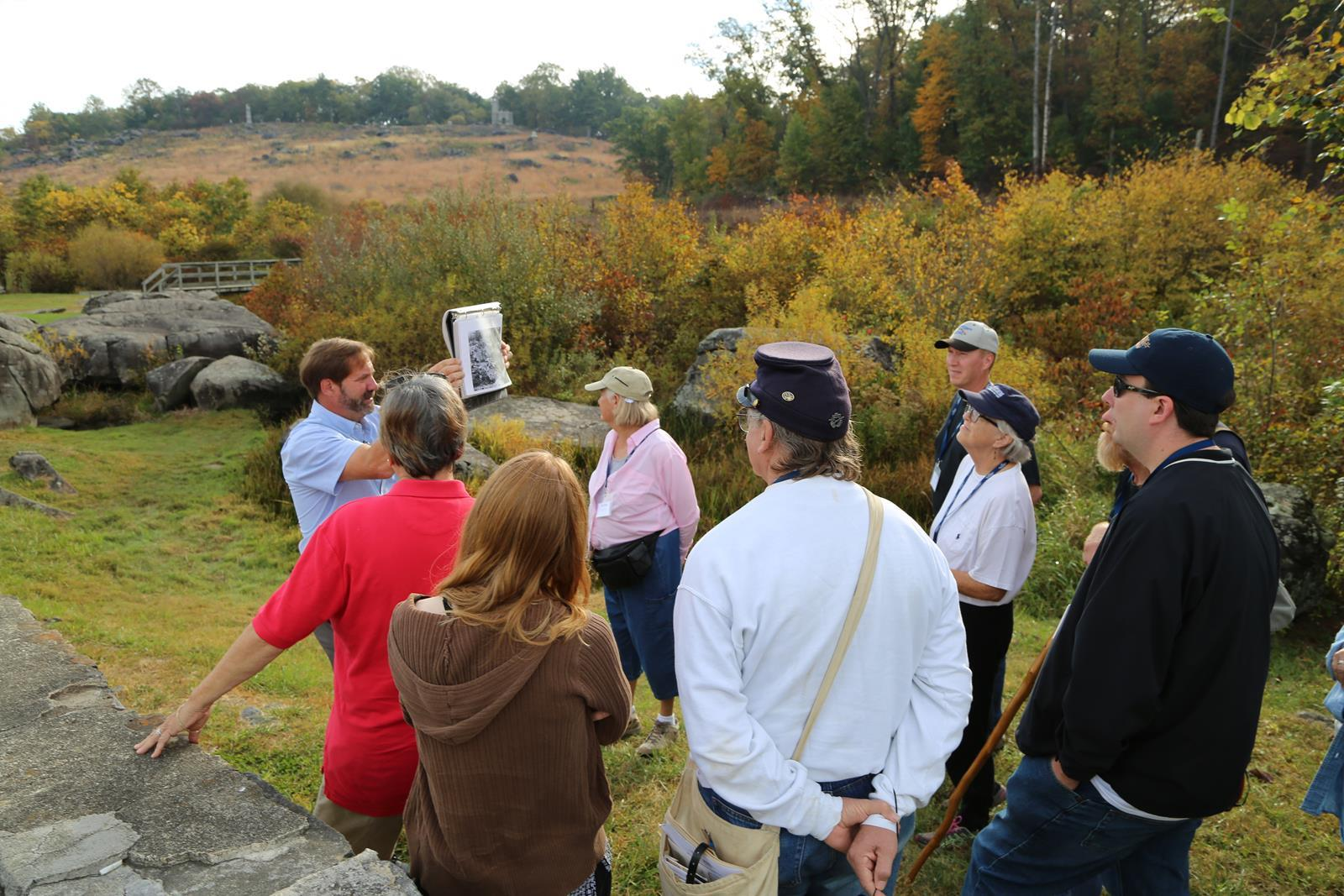 Licensed Battlefield Guided Tour