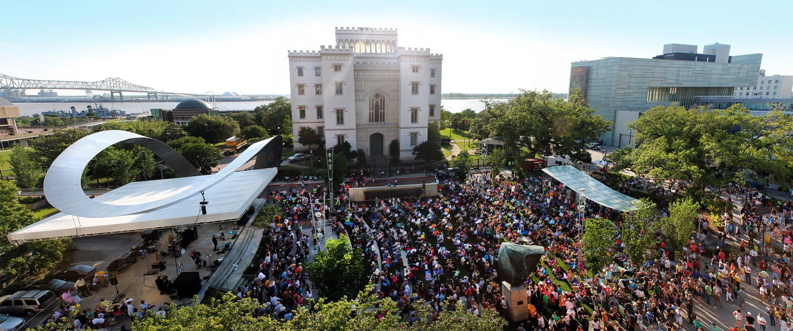 Outdoor Concert at Old Louisiana Capitol