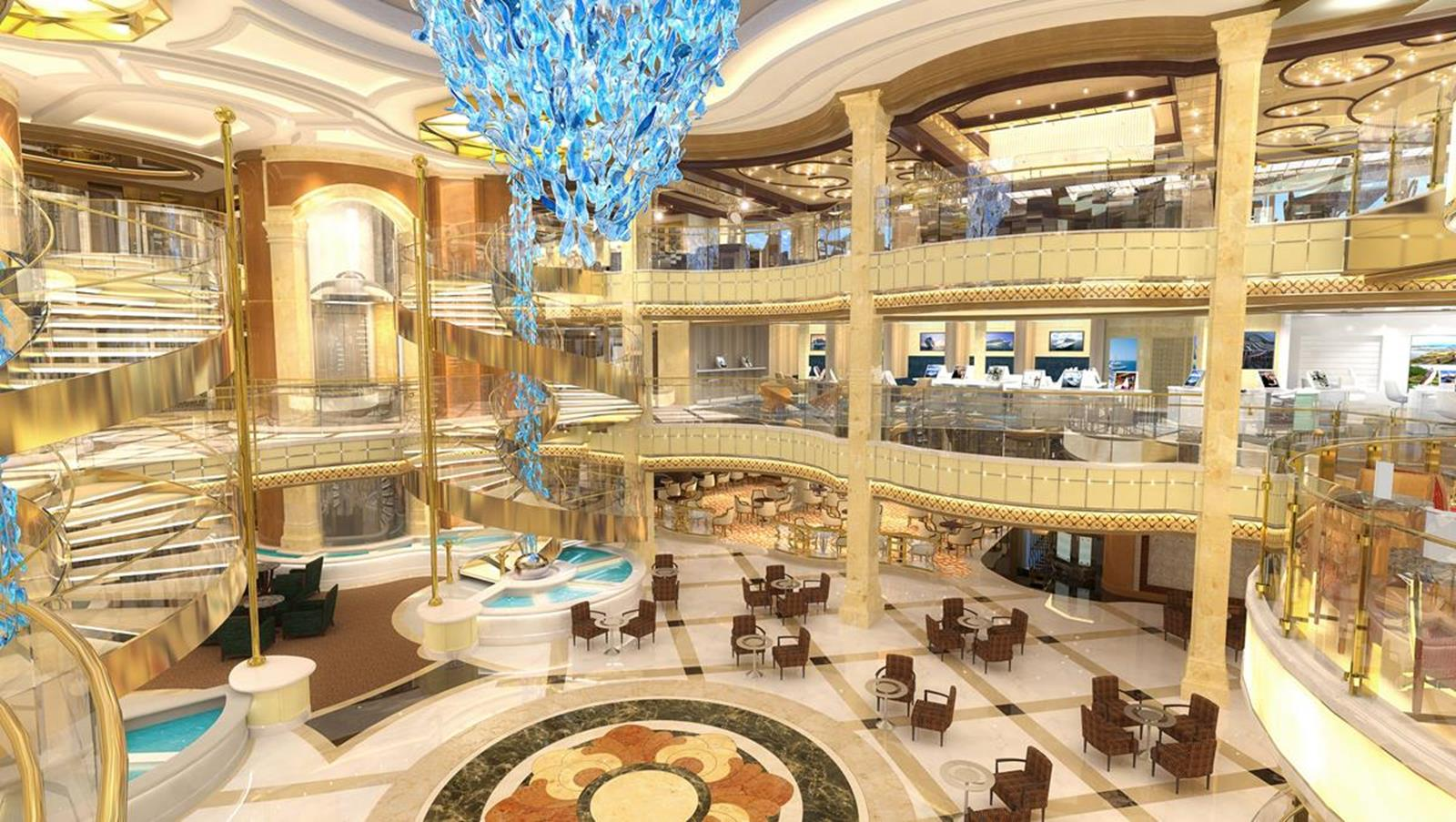 Sky Princess Atrium