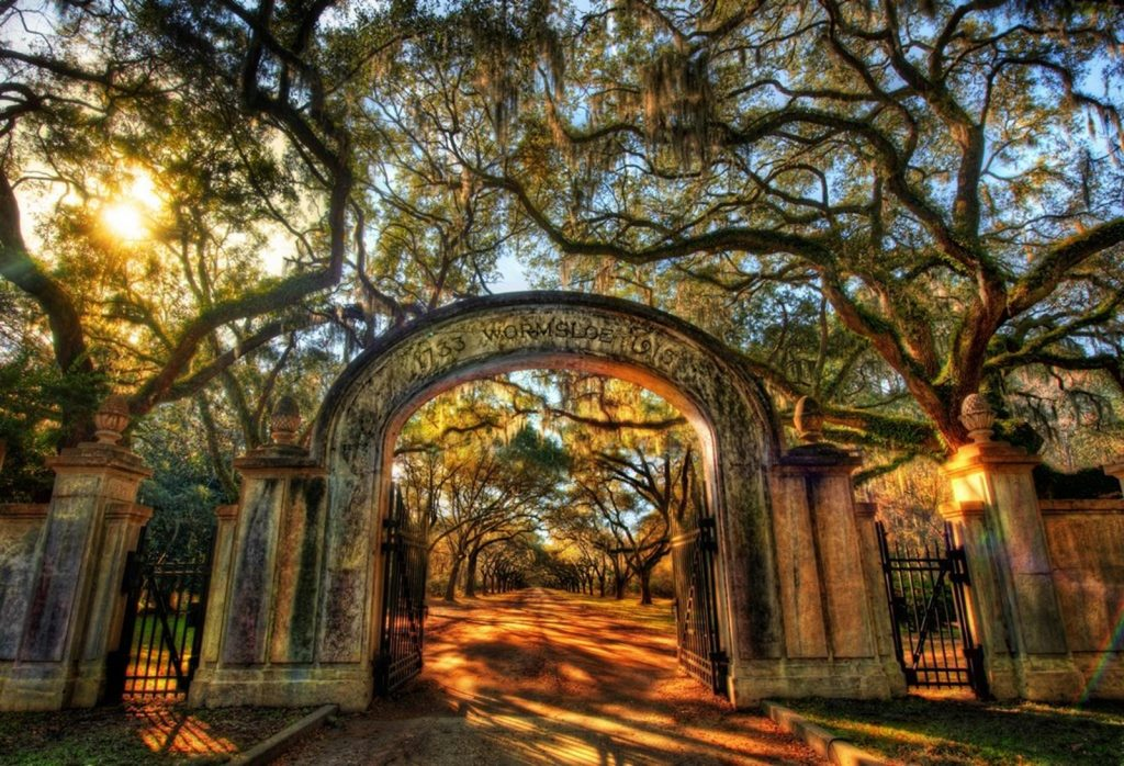 Entrance Wormsloe Plantation