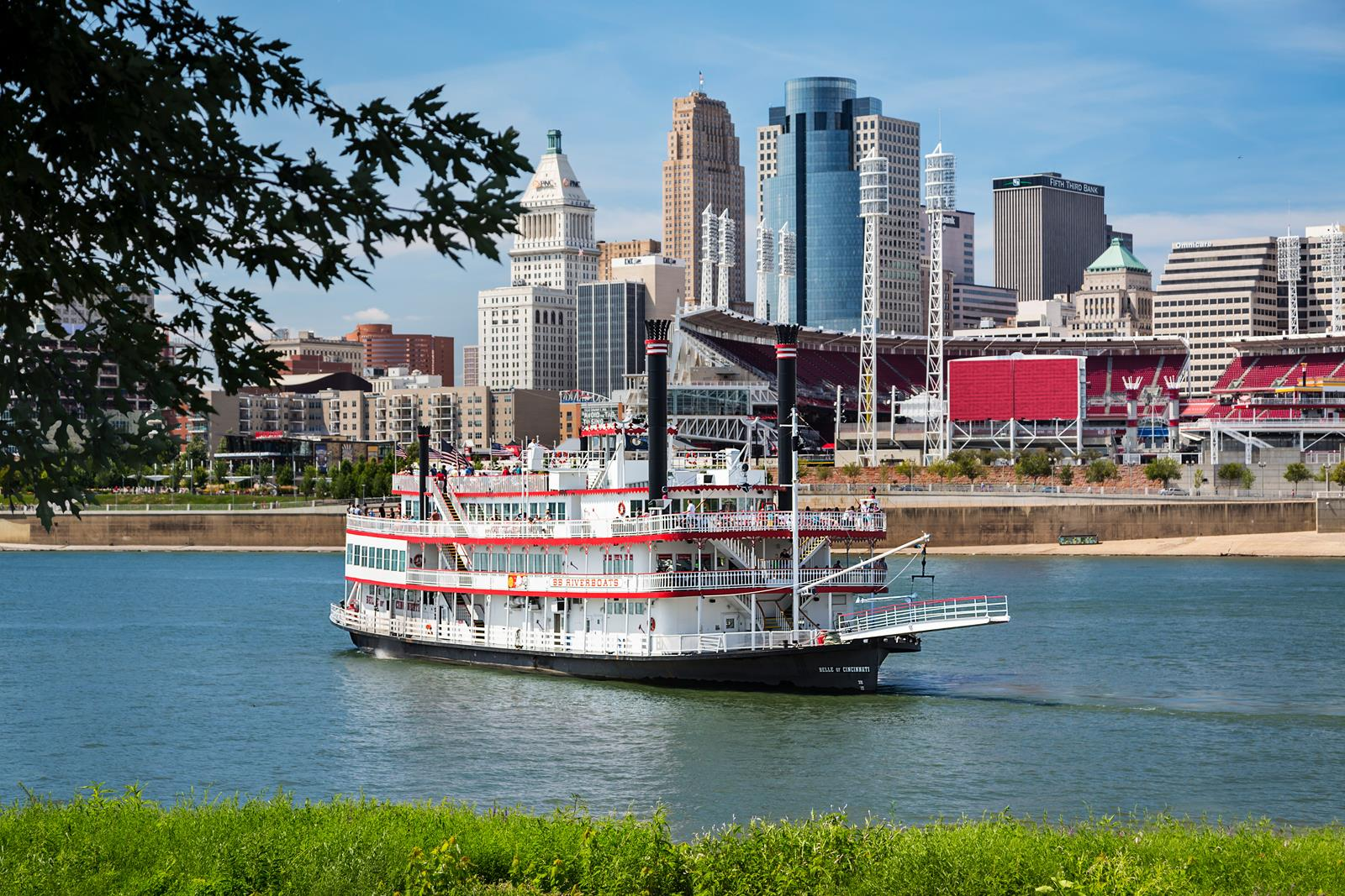 BB Riverboats with Cincinnati
