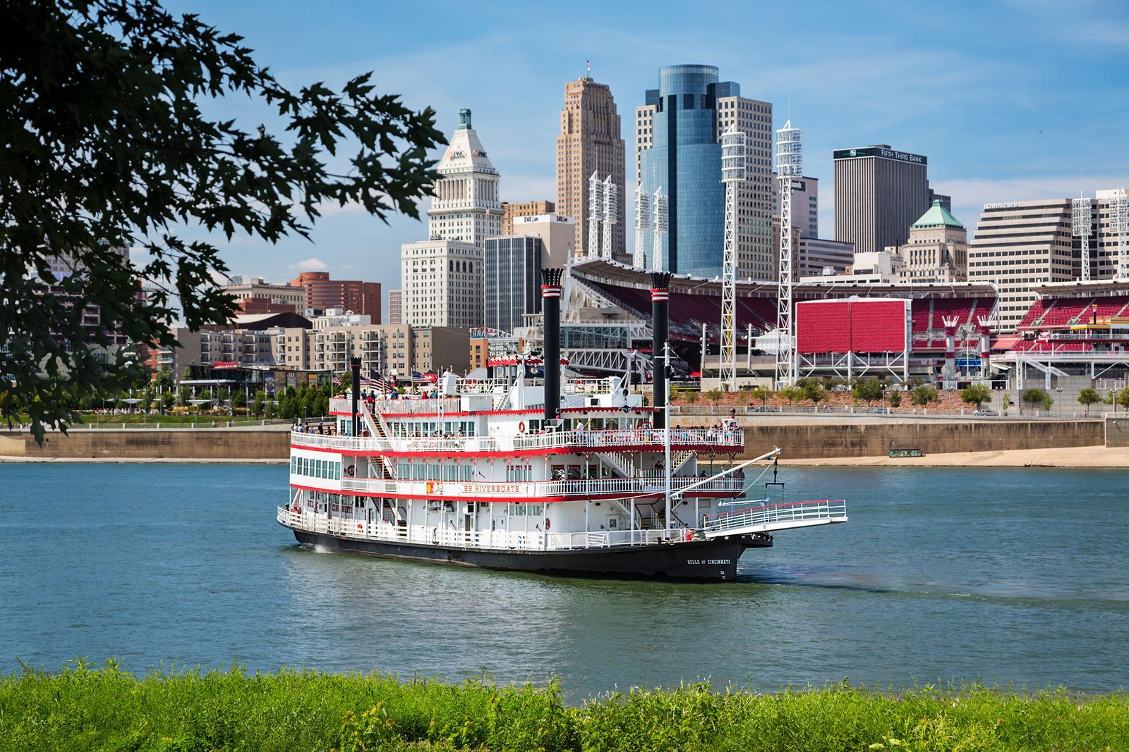 BB Riverboats with Cincinnati