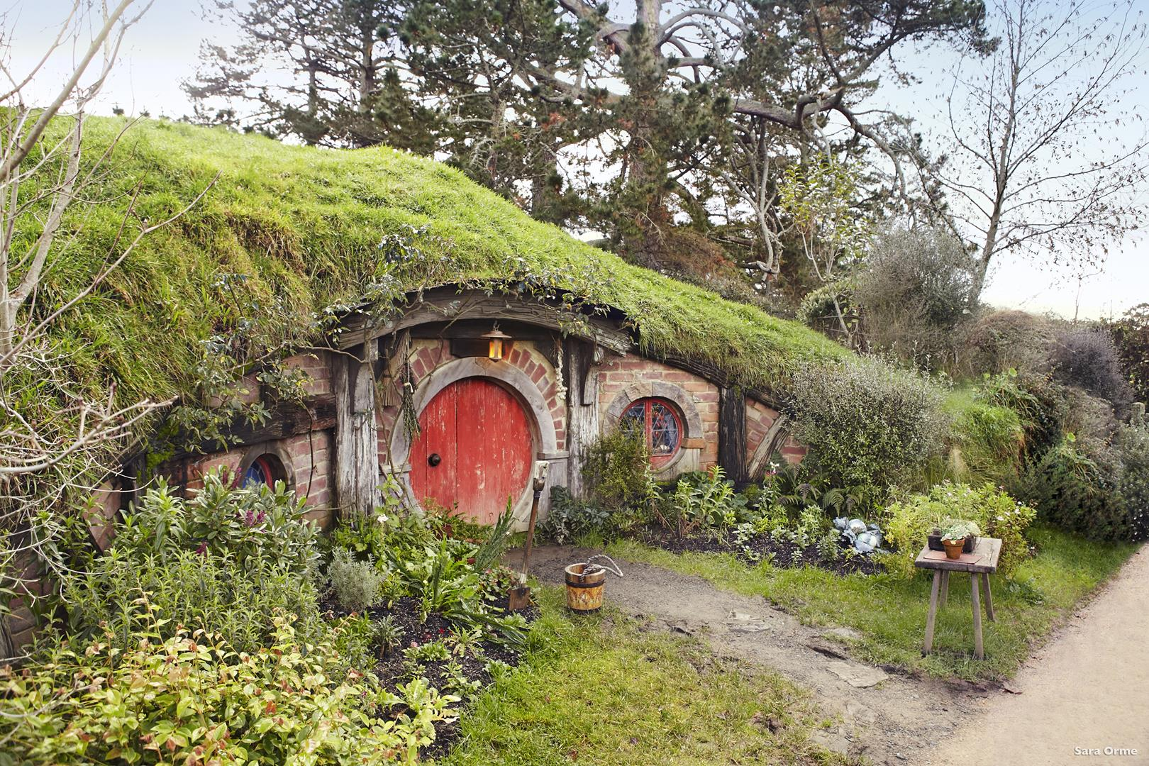 Tours of the Hobbiton Movie Set near Matamata captivate fans of the Hobbit trilogies