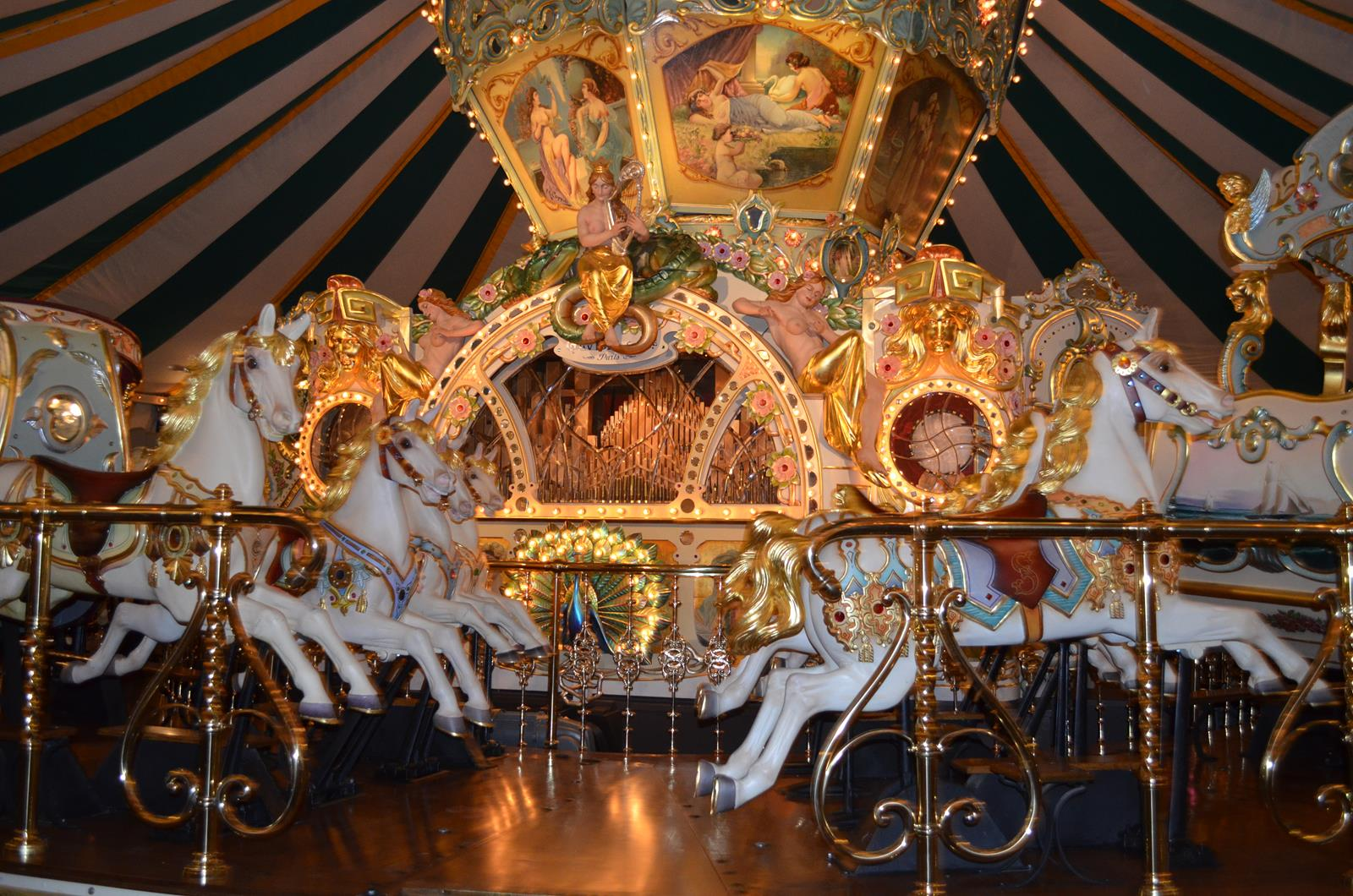 European Salon Carousel at Sanfilippo Estate