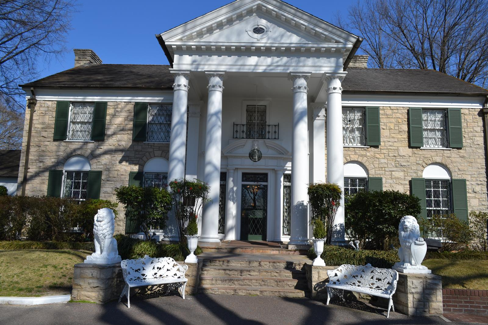 Elvis Presley's Graceland is a National Historic Landmark