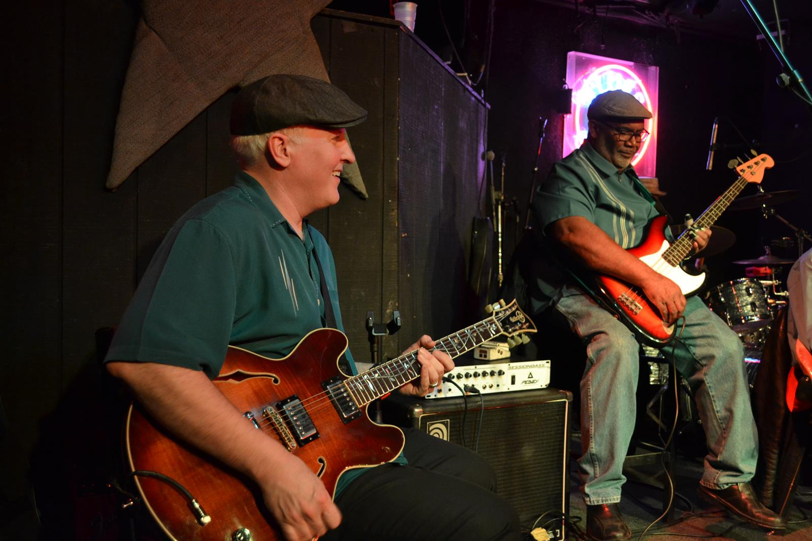Musicians perform at the Blues City Cafe on Beale Street in Memphis.