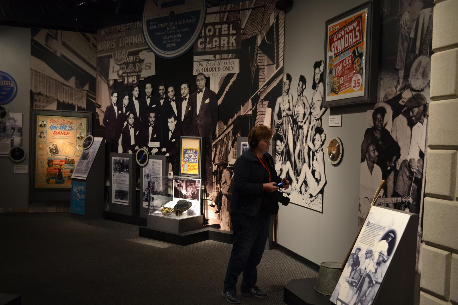 Seven-gallery Rock 'n' Soul Museum in Memphis offers insights into early music culture.