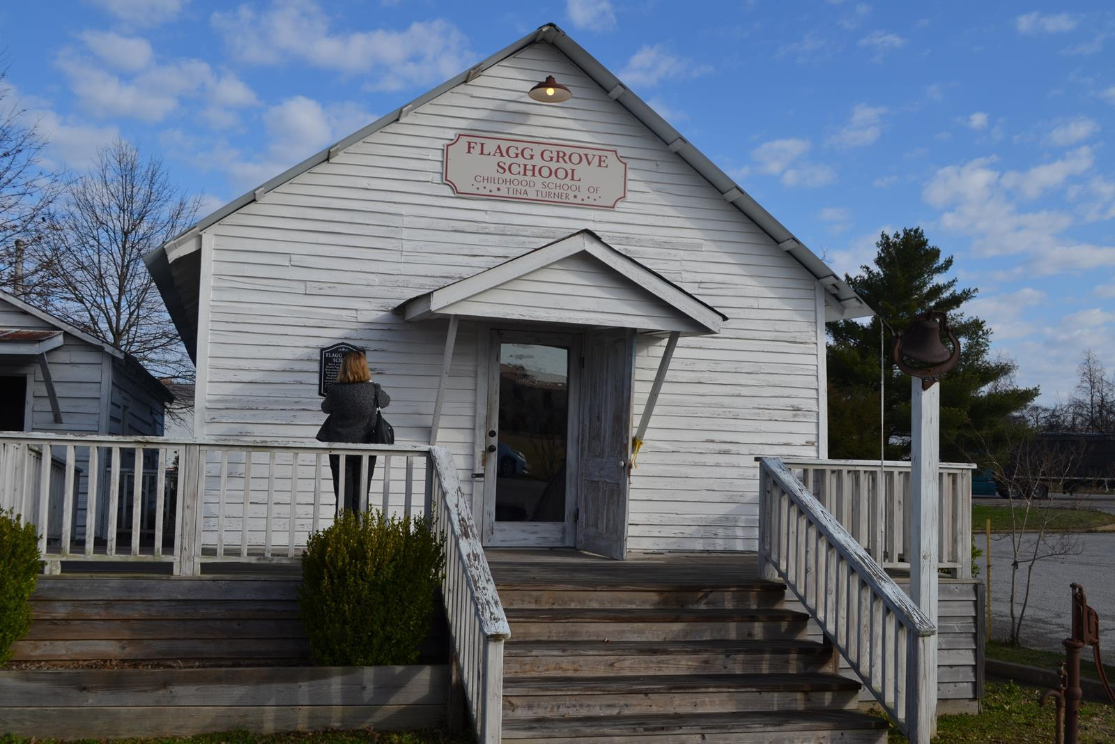 Singer Tina Turner's childhood school is part of the West Tennessee Delta Heritage Center in Brownsville