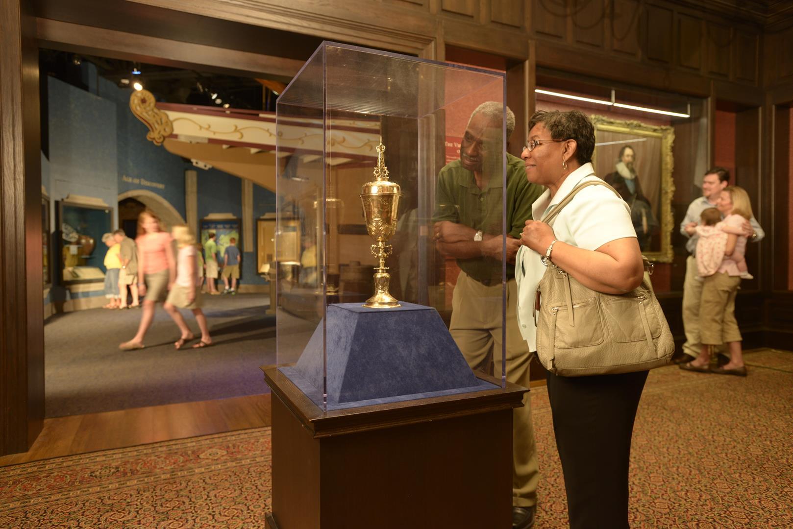 NEW Jamestown Settlement exhibition galleries