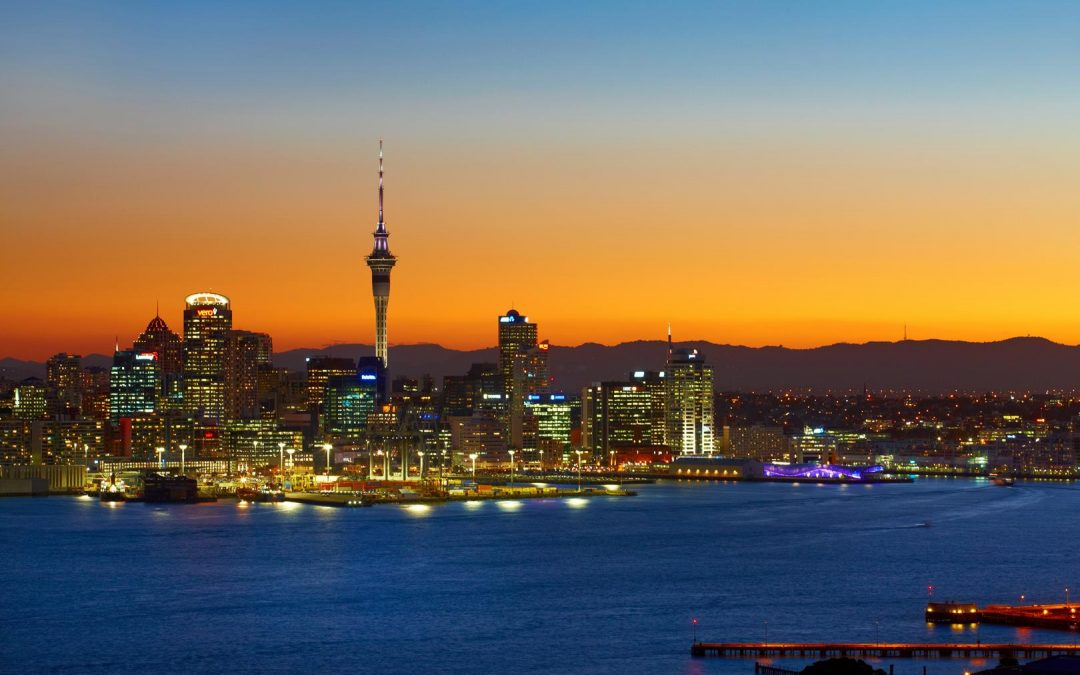 As the sun sets over the Waitakere Ranges and the Sky Tower pierces the evening glow, the promise of fun and food fills the air in Auckland, New Zealand's largest city