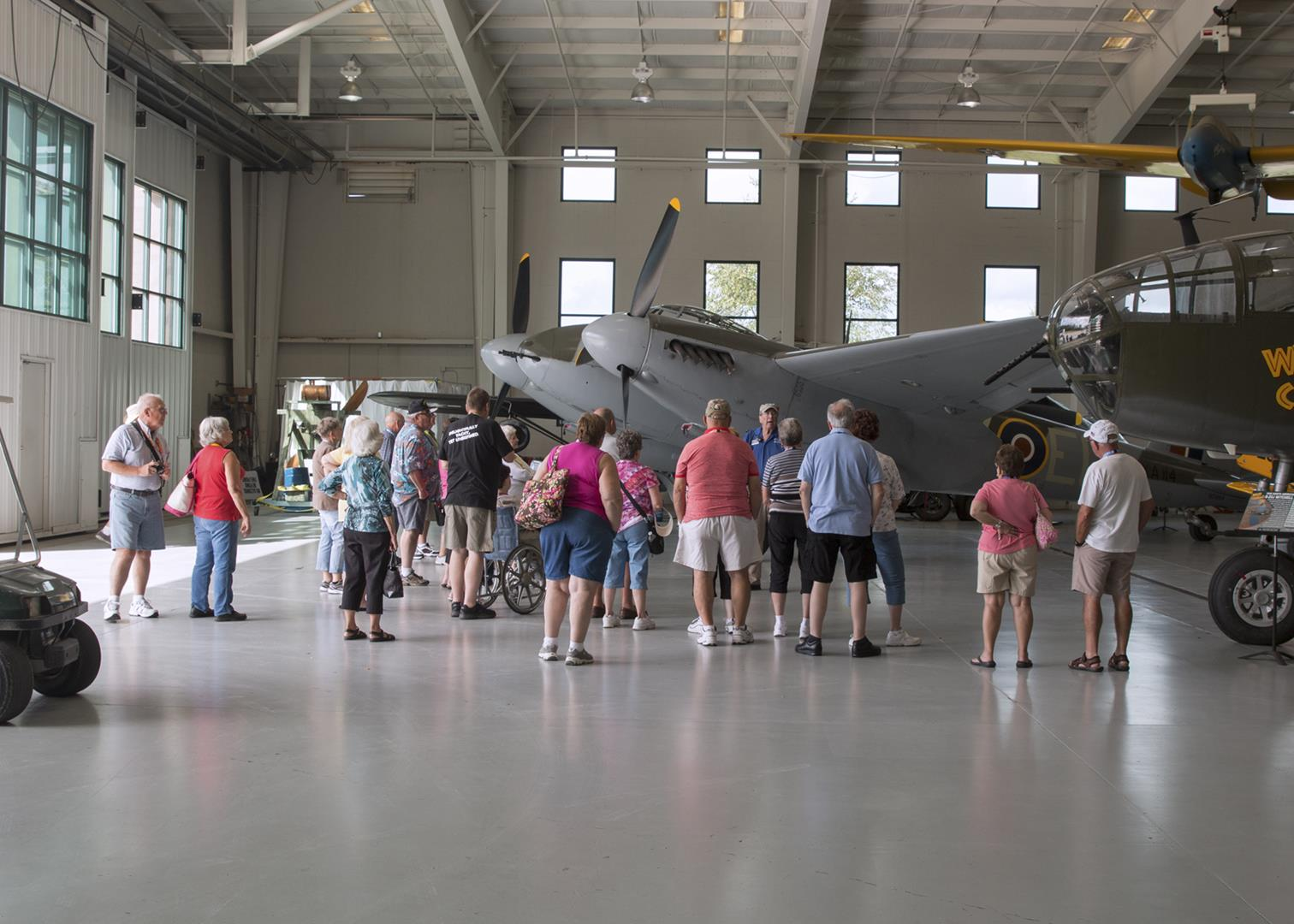 Visiting the Army Air Corp