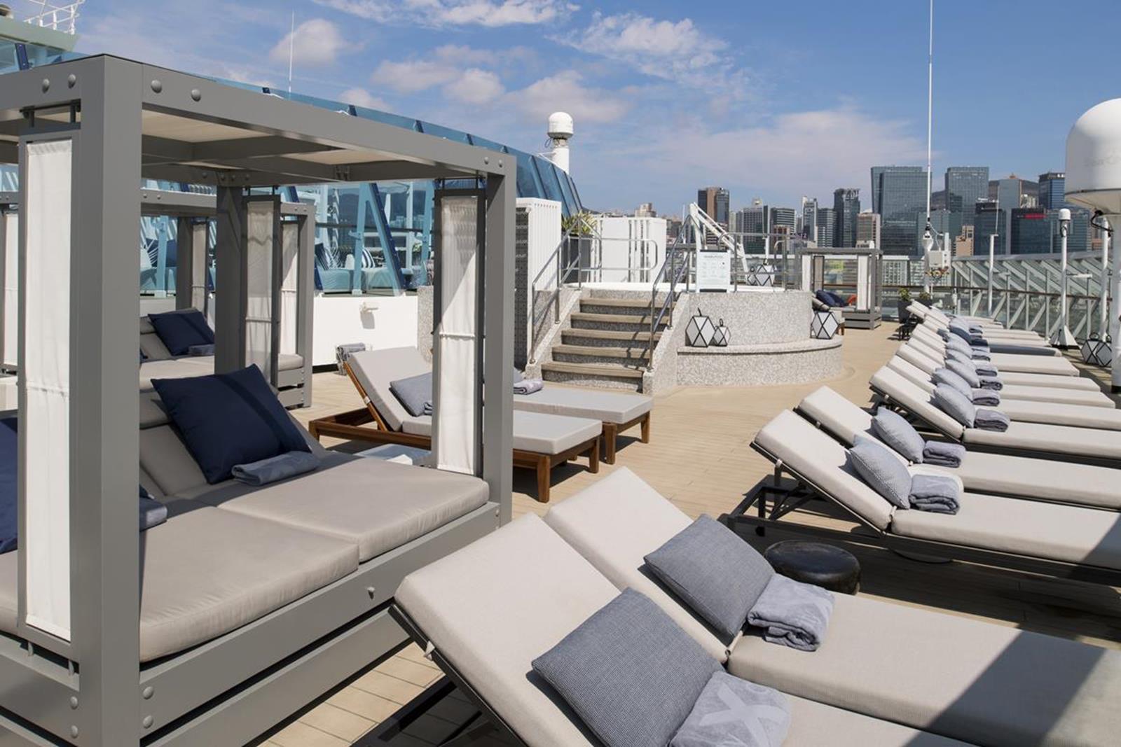 Celebrity The Retreat Sun Deck