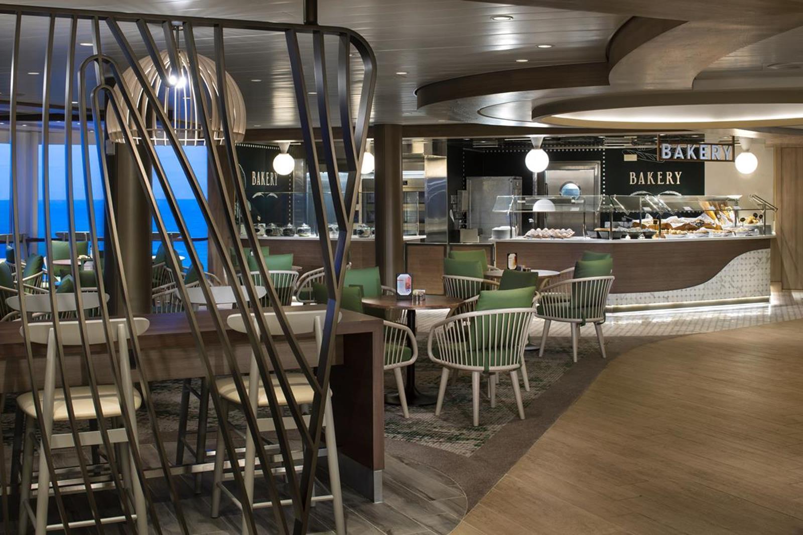 Celebrity Oceanview Cafe