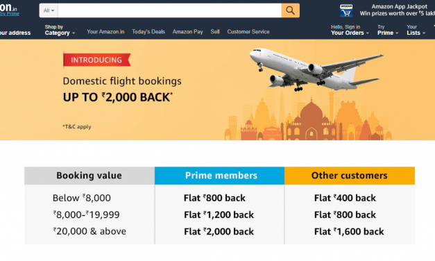 Amazon Launches Flight Bookings in India in a Superapp Strategy