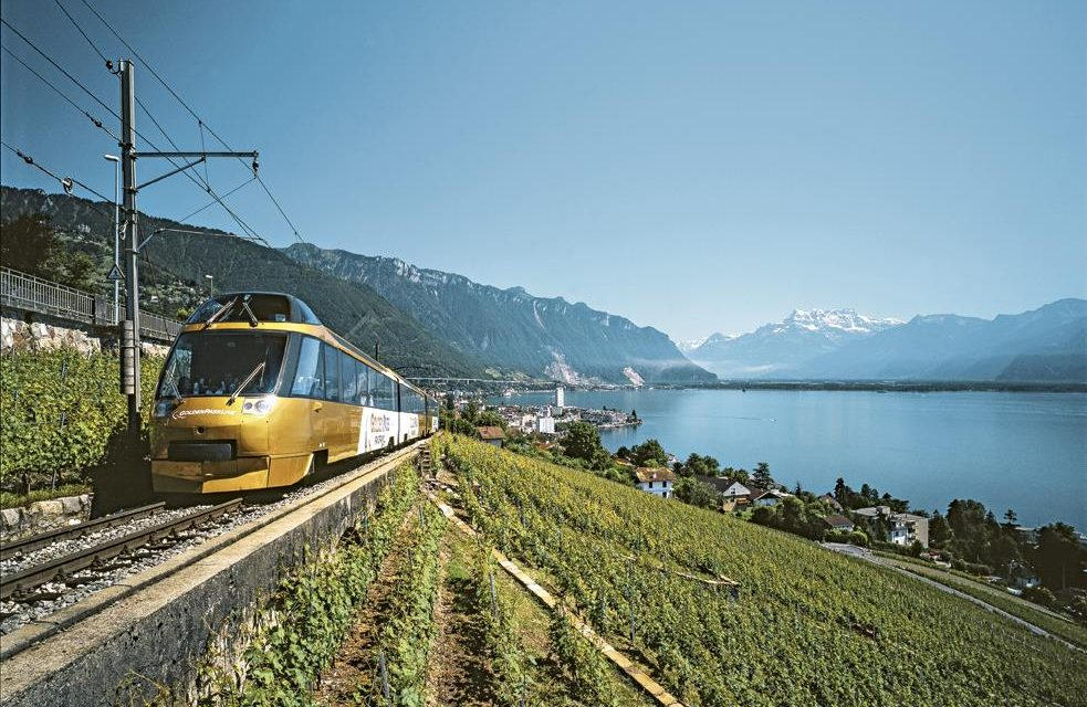 Seeing Switzerland by Train, Bus and Boat