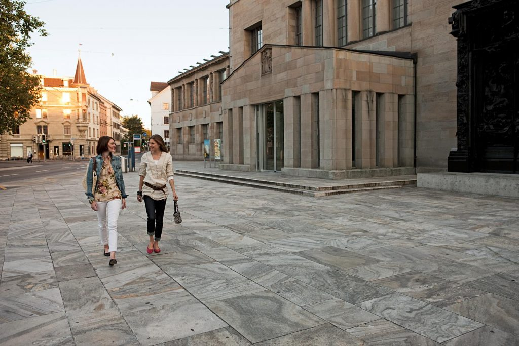 The Kunsthaus Zurich presents works dating from the 13th century to the present day. The ground-breaking temporary exhibitions are as prestigious as the museum's superb collection of modern art.  Copyright by Switzerland Tourism