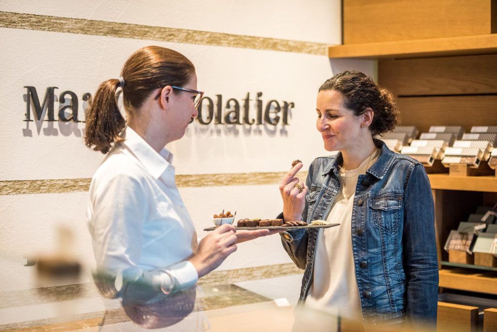 The chocolate atMax Chocolatier in Lucerne is second-to-none. Andre Meier
