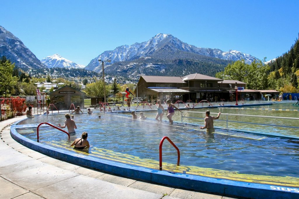 The Ouray Hot Springs - Colorado Hot Spring