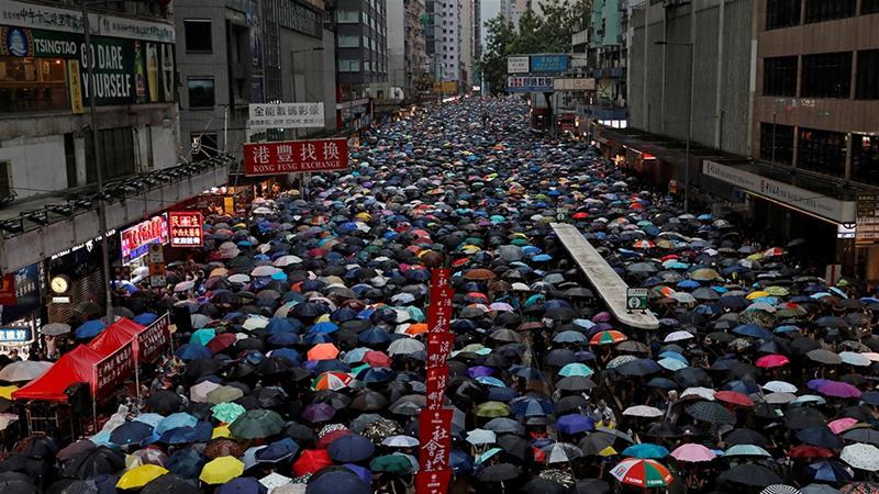 What if Hong Hong Falls?  Worse-case Scenario for Travel